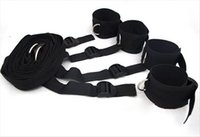 Wholesale bdsm rope gag for sale - Group buy Chastity Devices Bondage Under The Bed Restraint System bdsm gags Handcuffs Legcuffs Slave Femdom Wrist Ankle Restraint Belt sex products