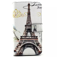 Wholesale Dual Owl - Elephant owl flower tower butterfly Leather Case 2015 New Dual-Use Flip PU Leather Fold Wallet Pouch Case for LG G3 Stylus D690