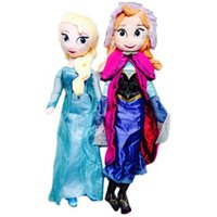 Wholesale frozen doll cm inch frozen elsa anna toy doll action figures plush toy frozen dolls Christmas Gift DHL EMS Free In stock
