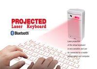 teclado de proyección de iphone al por mayor-2015 nuevos productos inalámbricos bluetooth teclado de proyección láser virtual para iPad a través de usb para tablet pc teléfono inteligente iPhone ios andriod sistema