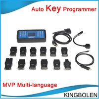 Wholesale Super Mvp Key Programmer - 100% good quality super MVP key programmer tool V14.02 Auto key copy tool Two years quality