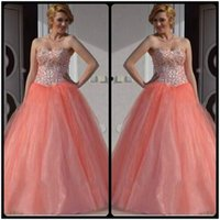 Wholesale Pretty Sweet Sexy - Pretty Puffy Dresses for Sweet 16 Sixteen Princess Quinceanera Dresses masquerade Ball Gowns for Girls