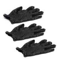 black nitrile exam gloves - HOT SALE Nitrile Exam Gloves Piercing Powder Latex Black with Box S