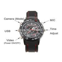 Wholesale Mini Spy Watch Video Recorder - 1pcs New mini camera 2015 Electric 8GB Hidden Mini DV DVR SPY Camera Camcorder Video Recorder 720*480 P Pocket Wrist Watch