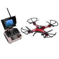 Wholesale quadcopter brushless - Brand New Original JJRC H8D 5.8G RC FPV Quadcopter Headless Mode One Key Return RTF Drone with 2.0MP Camera FPV Monitor LCD order<$18no trac