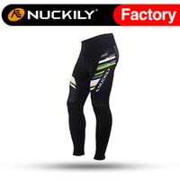 Wholesale Locking Pants - Nuckily Mens cycling durable zip lock down ankle zip biking pants Best quality padded biking tight for men MD005