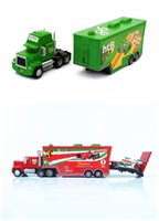 Wholesale New Boys Pixar Cars - Model Cars Cars Toys Toy Airplane Toy Trucks Cars 2 Mack Chick Hauler Thai Pixar Car Lightning Hick Truck Toy Car Kids Color With Little Car