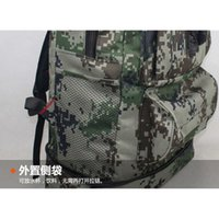 Wholesale Bicycle Bag Backpack - uggage Bags Backpacks 50L Large Military Backpack Nylon Hiking Camping Pack Outdoor Travel Rucksack Bicycle Cycling Road Bags Bolsas Moch...