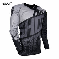 Wholesale Motocross Motorcycle Jersey - 3 Colors Moto GP Jersey MX MTB Off Road Mountain Bike DH Bicycle Motorcycle Riding Jersey DH BMX Downhill Motocross Jersey Size Racing Sets