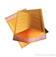 emniyet tutkalı toptan satış-Kabarcık Zarf Yastıklı Kağıt Zarflar Kabarcık Mailer Çantası Darbeye Takı Elektronik Güvenlik Çanta Paketleme Torbalar Destroy Tutkal