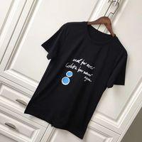 Wholesale Black Art Tee Shirts - 17FW Luxury Europe Paris Colette for Never Again Collaboration Coco Love Graffiti Art Tshirt Fashion Men Women T Shirt Casual Cotton Tee Top