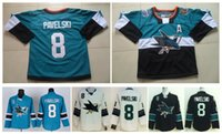 Masculinas Wholesale Hóquei no Gelo Jersey Sharks baratos 8 Joe Pavelski Jersey 2015 Stadium Series Logo costurado Authentic China Sports Jerseys