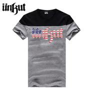 Wholesale Euro Shirts For Men - Free Shipping Euro Size Unkut T Shirts Men Hip Hop Tee Shirt For Man Camisa Masculina Mens T-Shirt With Short Sleeve O Neck