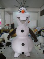 Wholesale Mascot Custom For Adults - Hot Sale New custom made olaf costume Olaf Mascot Costume for Adult EMS Olaf mascot Free Shipping