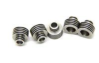 Wholesale Mini Heat Sinks - Heat Sink Adaptor drip tips 510 thread stainless steel material fit for Smok TFV4 tank mini subox mini RTA RBA RDA atomizers