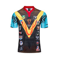 Wholesale Free Shipping World - Free shipping! 1718 NRL National Rugby League World Cup commemorative edition high quality Jersey Rugby Shirts Size S-XXXL