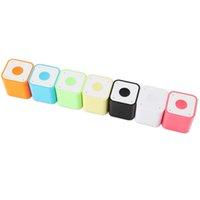 коробка подарка диктора оптовых-2015 самый маленький Bluetooth динамик Smart Box сабвуферы портативный пульт дистанционного спуска затвора громкоговорители с подарочным пакетом DHL Free MIS120