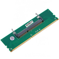 SMAKN® DDR3 Laptop SO-DIMM per PC desktop DIMM Memoria RAM Adattatore DDR3 204Pin a 240Pin Lod