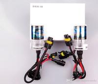 Wholesale Bi Xenon Light 35w H4 - HID880 881 Xenon 12v 35W bixenon DC xenon HID For Car Headlight Replacement lamps Bulb light Bi-Xenon Hi Lo Beam 43k 6k 8K H1 H3 H4 H7 new