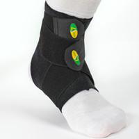 soporte de tobillo negro al por mayor-Calcetín de compresión / Soporte de arco del talón / Calcetín de tobillo / Calcetín de protección de tobillo / Calcetines deportivos Calcetines negros tamaño S M L