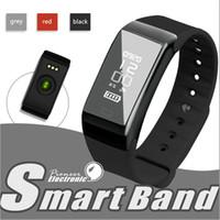 Wholesale Universal Fitness - Universal Style Smartband F1 Smartband Smart Wristbands Sport Band Bracelet fitness tracker Heart Rate Monitor IP67 Waterproof
