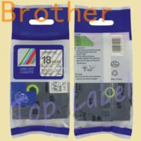 Wholesale P Touch Label Maker Tape - 18mm tz tze label tape TZ-SE4 TZE-SE4 SECURITY LABEL SE4 for P-touch label printer label maker ribbon tape cartridge tape