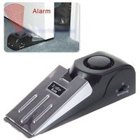 Wholesale Wedges Wholesale China - 2016 China Suppliers Door Stop Alarm Wireless Home Travel Security System Portable Safety Wedge Alert For Sale