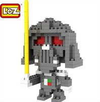 Star Wars Blocchi Maestro Yoda Darth Vader Building Blocks LOZ diamante Blocks formazione gioca Regali per Stars Wars Fan trasporto libero