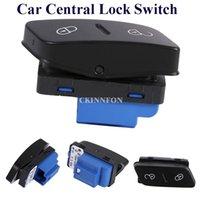 Wholesale vw switches resale online - DHL Front Left Side Car Door Lock Switch K0 for VW CC Golf Jetta MK5