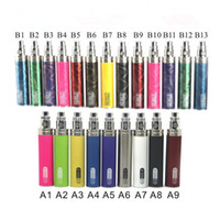 Wholesale Gs Ego Colorful - GS Ego II 2200mah E Cigarette Battery Lumia Edition 3D Figure Colorful 2200 mah Ego T Batteries Vaporizer Pen Fit 510 Thread Atomizers