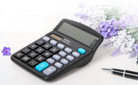 Wholesale Cheapest Calculators - 2015 Cheap In Stock Office & School Suppliers Calculators Real Images Durable Electronic Calculators for Student Gifts