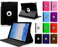 ipad için duruyor toptan satış-IPad Pro Tablet Kılıf için, 360 Derece Dönen Kaliteli PU Deri Kapak iPad için Koruyucu Kabuk Flip Kılıfları Standı 12.9 '' inç