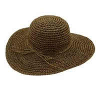 Mode gros-Delicate Cheap main Crochet Sun Chapeau de Paille Plage Wide Large nor5813 Brim Cap