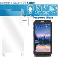 Wholesale Galaxy S4mini - For Samsung galaxy A9 A8 A7 A5 tempered screen Front Screen film gA3 A5 A7 S3MINI S4MINI S5MINI NOTE EDGE GRAND PRIME Bubble for Glass Film