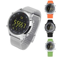 Wholesale Home Sms Control - High quality IP67 Waterproof EX18 Smart Watch Support Call and SMS alert Pedometer Sports Activities Tracker Wristwatch Smartwatch