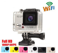 Wholesale Gopro Wholesalers - SJ4000 Waterproof Sport DV HD Camera DVR Camcorder Gopro Style 1080P 30FPS 12MP H.264 1.5 Inch LCD Wifi Free Shipping JBD-SW