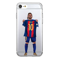 Wholesale Iphone Phone Sport Shell - Shaka Laka No.10 Blue health Phone shell Clear sports Case For iPhone 6 6S 5.0in 6plus  7 7plus 8 8s plus X Soft TPU silicone back Cover
