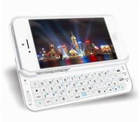 Wholesale Iphone Wireless Keyboard Case - Wholesale-High Quality Soft Ultrathin Wireless Bluetooth 3.0 Keyboard Case for iPhone 5 5S bluetooth keyboard free shipping