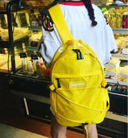 Wholesale Top Fashion Backpack Brands - sup bag Backpack Nylon bag Unisex Street have 4 color Top quality high handbags luxury brand designer bag