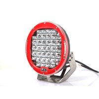 225W 10inch RED LED CREE lampe de travail LED conduite Worklight Jeep voiture brillant ronde LED Light Work Off-Road SUV 4WD 4x4 ATV 12v 10-30