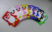 Wholesale 7th Nano - 3D Penguin Bear Rilakkuma Relax smart Cute Soft silicone Rubber case for Apple Ipod Nano 7 7th 7gen 7g Nano7 Cover Cartoon Lovely Back skin