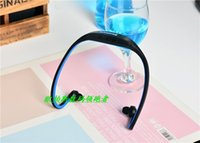 Wholesale microphone rechargeable for sale - Group buy High quality goodbiz shop High Quality ZK S9 Rechargeable Sports Bluetooth Headphone Stereo Headset Microphone for iphone