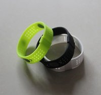 Wholesale Energy Band Retail - Free Shipping PB EVOLUTION Balance Sport Perforated Silicone Energy Bracelets Wristbands Grid Bands Without Retail Boxes
