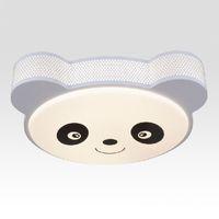 bebek tavan toptan satış-LED Karikatür Panda çocuk Odası Tavan Lambası Yaratıcı Sevimli Bebek Odası Tavan Işık LED çocuk Odası Tavan Armatürleri