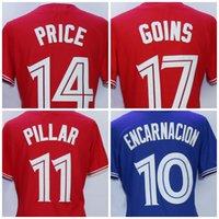 Wholesale Boys 14 Shirt - Youth Toronto Jerseys 20 Josh Donaldson 14 David Price 2 Troy Tulowitzki 11 Kevin Pillar 17 Ryan Goins 19 Jose Bautista Kids Shirt