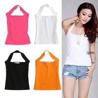 Ladies Sleeveless Strech Bodycon Cotton Top Womens Low Cut-Weste-Spitze Shirt