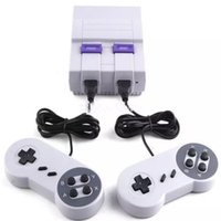 Super Mini Classic SFC TV console di gioco video sistema di intrattenimento per Nes SNES built-in 400 giochi classici Super Nes con scatola al minuto