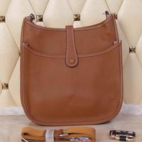 Wholesale Brown Leather Bag Sale - 2016 new men women's casual genuine leather hobos, hot sale handbags,messenger bag,, fashion,shoulder bag,, good price
