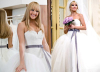 Wholesale White Classic Style Wedding Dresses - New Princess Style Ball Gown Wedding Dresses Sweetheart Ribbon Sash Lace Tulle Court Train Classic Long Bridal Gowns Custom W624