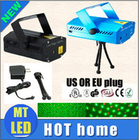 Wholesale Homes Cost - Factory cost price 150mW Green&Red Laser Blue Black Mini Laser Stage Lighting DJ Party Stage Light Disco Dance Floor Lights